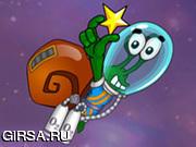 Флеш игра онлайн Snail Bob Space