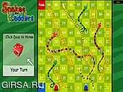 Флеш игра онлайн Змеи и лестницы