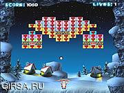 Флеш игра онлайн Шарик снежка