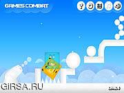 Флеш игра онлайн Снежки Рокот / Snowballs Rumble