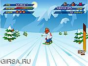 Флеш игра онлайн Сноуборд Мастер