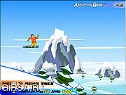 Флеш игра онлайн Сноубординг Верховный 2