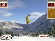 Флеш игра онлайн Сноуборд 5 треков