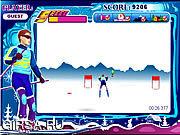 Флеш игра онлайн Спринт Snowboard