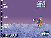 Флеш игра онлайн Scooby Doo: Big Air Snow Show