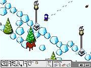 Флеш игра онлайн Снега В Регионе / Snow Traxx