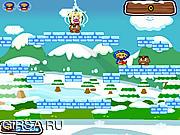 Флеш игра онлайн Снежный Марио 2 / Snowys Mario 2