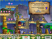 Флеш игра онлайн Snowy: Treasure Hunter II