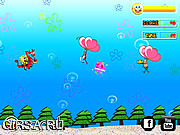 Флеш игра онлайн Летающий Спанч Боб / Soaring SpongeBob