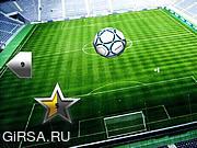 Флеш игра онлайн Soccer Kick ups