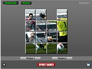 Флеш игра онлайн Футбол. Пазл / Soccer Sliding Puzzle
