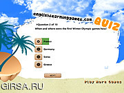 Флеш игра онлайн Sochi 2014 Winter Olympics Quiz