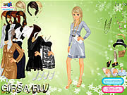 Флеш игра онлайн Society Lady Dressup