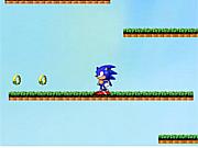 Флеш игра онлайн Приключения Соника / Sonic Go Home