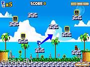 Флеш игра онлайн Соник Спин-брейк