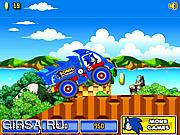 Флеш игра онлайн Соник на грузовике