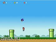 Флеш игра онлайн Sonic Lost In Mario World
