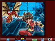 Флеш игра онлайн Sort My Tiles Bakugan