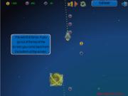 Флеш игра онлайн Space Gravity Game 2