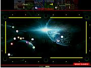 Флеш игра онлайн Space Pool Y8