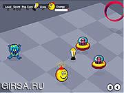 Флеш игра онлайн Happy Spaceball