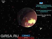 Флеш игра онлайн Бомба, бомбермен, мультики / Spacebrick