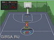 Флеш игра онлайн Всход Spalding вне / Spalding Shoot Out