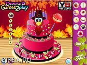 Флеш игра онлайн Приготовление ко дню Благодарения 2013 / Special Thanksgiving Cake 2013