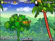 Флеш игра онлайн Ловкая обезъянка