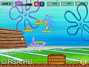 Флеш игра онлайн Губка Боб и вирусная инфекция / Sponge Bob Virus Infection