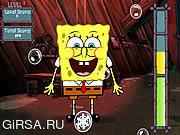 Флеш игра онлайн Spongebob Bubble Разорение / Spongebob Bubble Busting