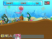 Флеш игра онлайн Spongebob Cycle Race 1