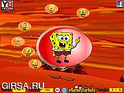 Флеш игра онлайн Приключения Губки Боба / Spongebob Floating Match