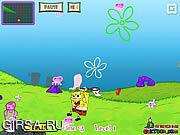 Флеш игра онлайн Спанч Боб  / Spongebob & Jelly fish