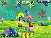 Флеш игра онлайн Spongebob Jelly Puzzle 3