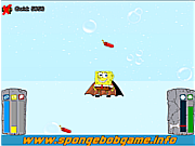 Флеш игра онлайн Spongebob Jump Underwater