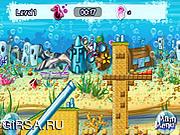 Флеш игра онлайн Губка Боб Мотокросс 2 / Spongebob Motocross 2