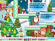 Флеш игра онлайн SpongeBob New Year Adventure