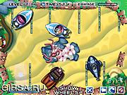 Флеш игра онлайн Spongebob Parking 2