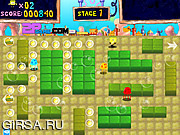 Флеш игра онлайн Спанч Боб против крабов