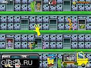Флеш игра онлайн Спанч Боб работает в тюрьме / Spongebob Undersea Prison