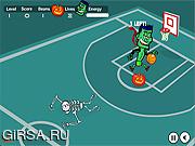 Флеш игра онлайн Spooky Hoops