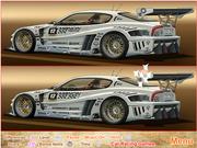 Флеш игра онлайн Spot Differences - Race Car