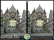 Флеш игра онлайн Найди отличия - Замки / Spot the Difference - Castles