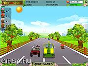 Флеш игра онлайн Весна Поездка / Spring Ride
