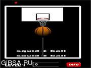Флеш игра онлайн Кальмар Мяч / Squid Ball