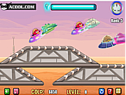 Флеш игра онлайн Гонки на звездолете / Star Airship Racing