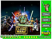 Флеш игра онлайн Звездные войны - спрятанные звезды