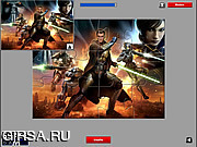 Флеш игра онлайн Звездные Войны - пазл