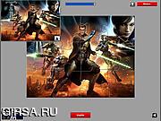 Флеш игра онлайн Звездные Войны - пазл / Star Wars Puzzle